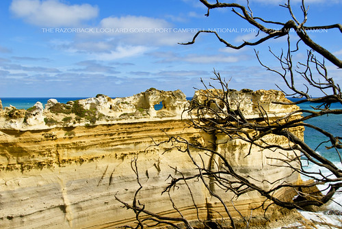 The Razorback at Loch Ard Gorge