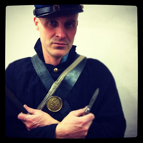 Hubs' #civilwar uniform. Hand sewn wool, amazing. by rebourneclothing.com