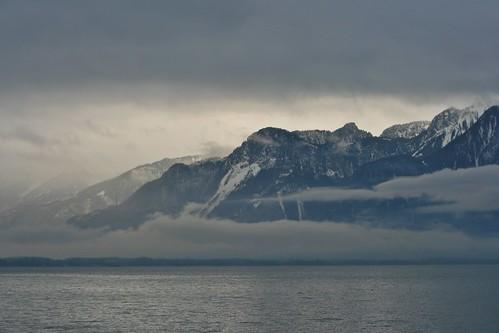 Lake Geneva, Montreaux Switzerland