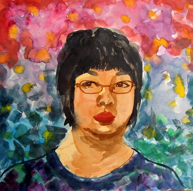 Self-portrait January 2012