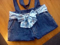 Jeans bag front