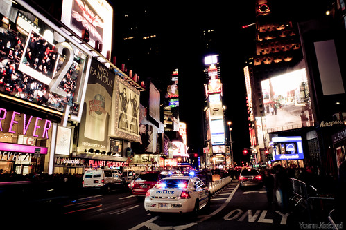 New York City - Times Square by night, United States, USA by Zeeyolq Photography