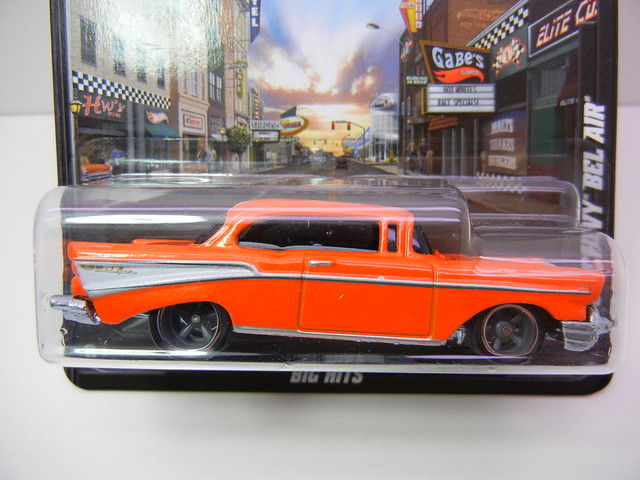 hot wheels boulevard '57 chevy bel air (2)