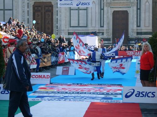 """Foto """"Firenze Marathon 2011 - Bandierai degl Uffizi""""  by unpodimondo - flick"""