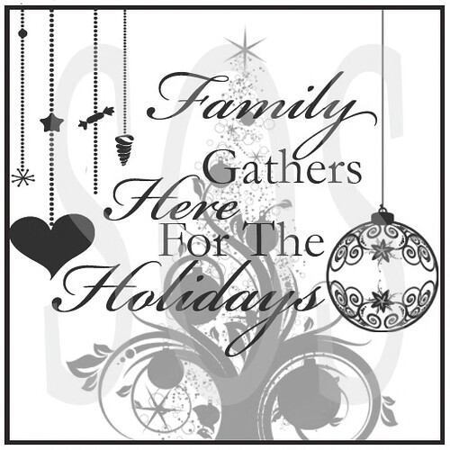 SOS_Family_Gathers_Here_Holidays Wall Decor @ The Deck