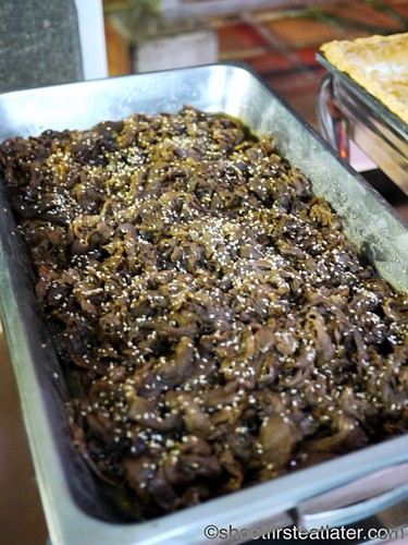 CNY 2012- Angus beef Korean bbq