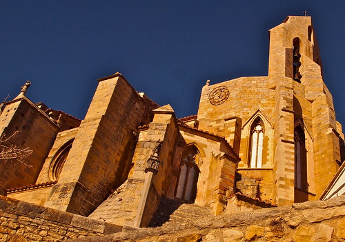 The Archpriest Church of Santa Maria Maggiore in Morella, Castellon Province, Spain