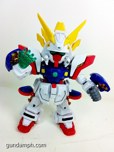 SD Archive Shining Gundam Unboxing Review (25)