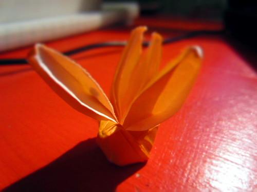 Origami Turkey by sophiefrenchgrl