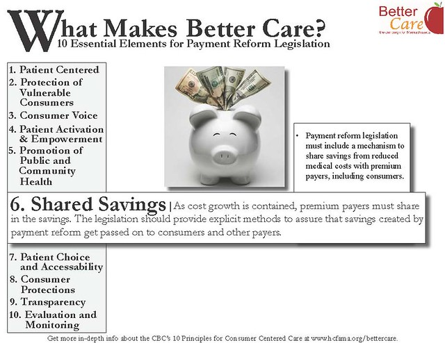 Principle 6: Shared Savings