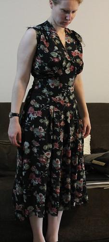 1940 dress in progress
