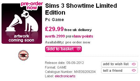 Pre-Order Showtime - HMV