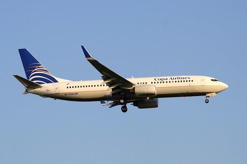 Boeing 737-800 da Copa Airlines @ SBGR