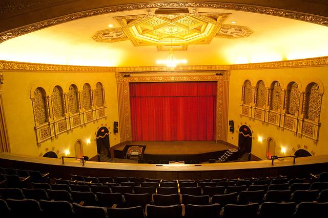 Michigan Theater Ann Arbor Mi Balcony Restored To Its