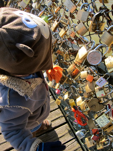 Love Locks - Pont des Arts Bridge