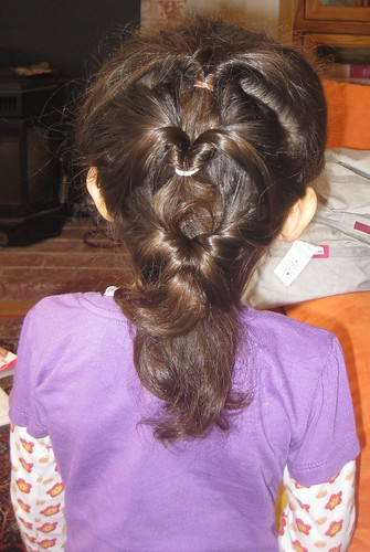 Vivian loved this hair style.