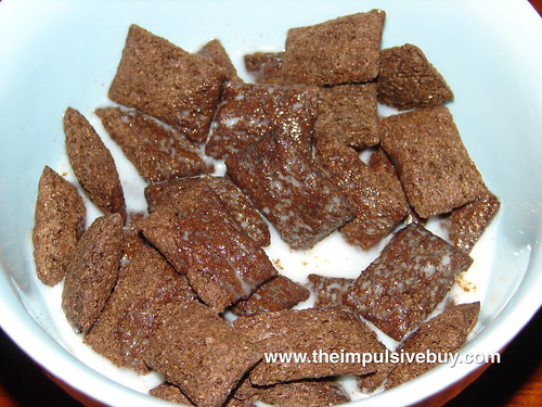 Kellogg's Krave Double Chocolate Cereal Closeup
