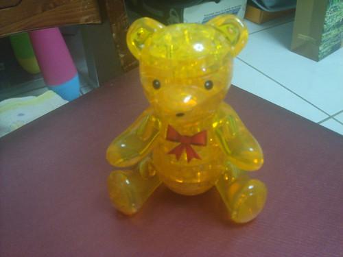 3D水晶立體積木拼圖_小熊1