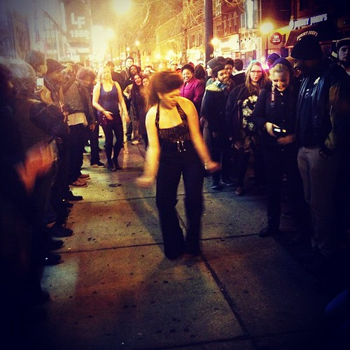 #dancing #night #city #igerschicago #chicago #wickerpark #soultrain line