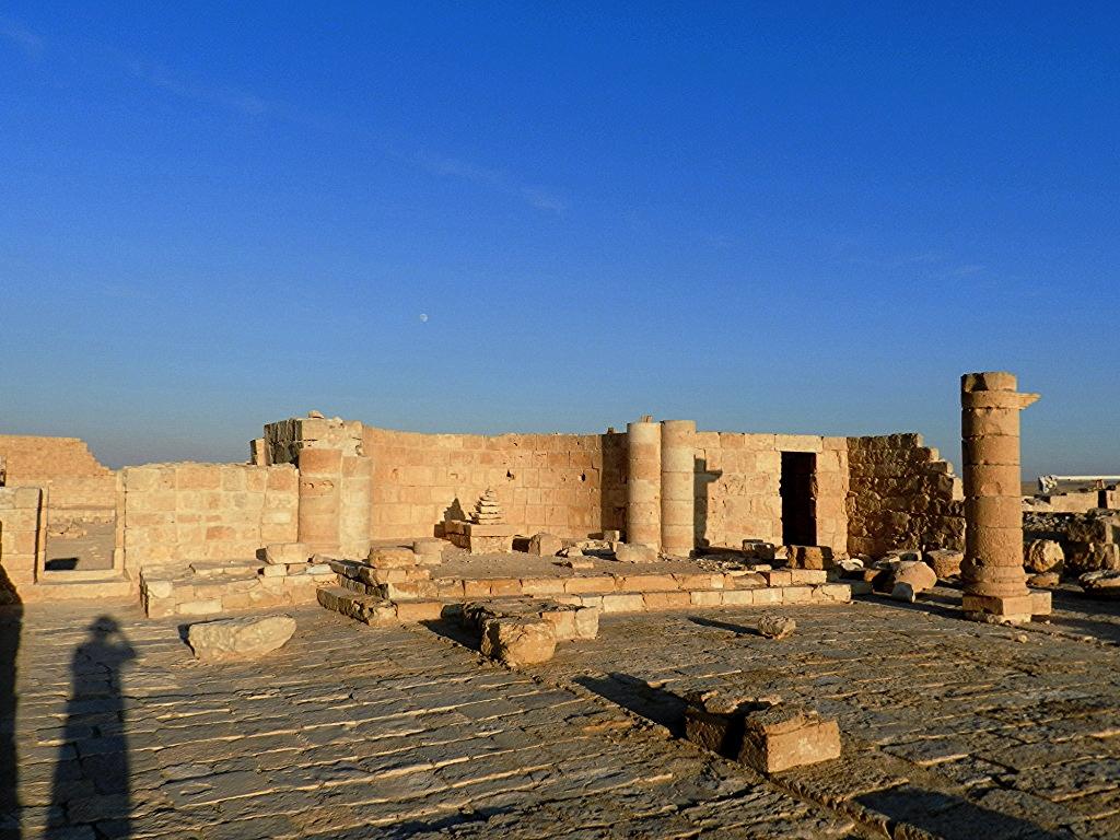 Avdat iglesia del Norte Israel 04