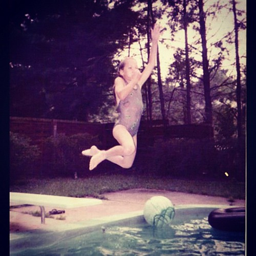 Instagram 28 Day Photo Challenge: Day 6- Childhood Memory- Summer Pool Time