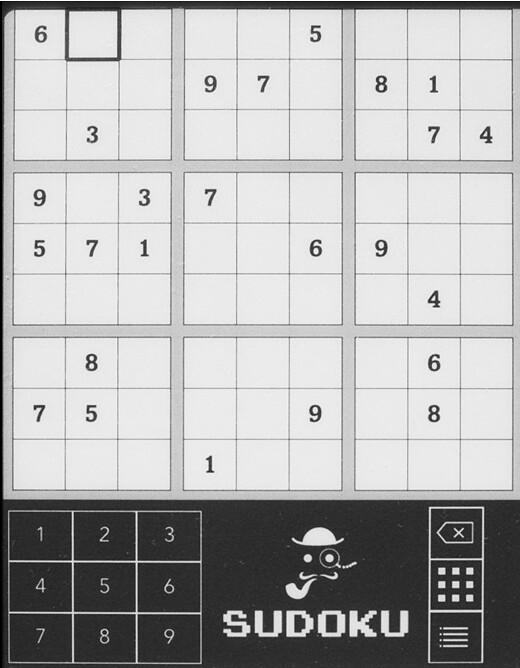 Kobo Touch Sudoku