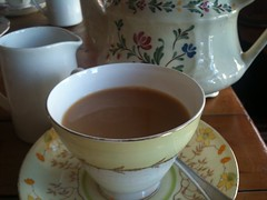 Earl Grey at Wild Poppy Cafe