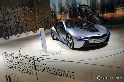 BMW i8 in Tokyo Motor Show 2011, Odaiba Big Sight