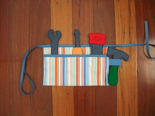Felt Tools & Tool Belt 3
