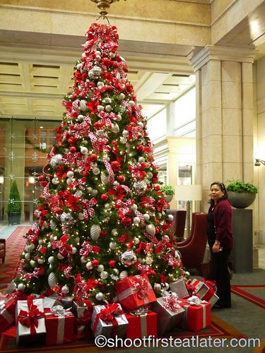 Christmas Tree, Willard Hotel