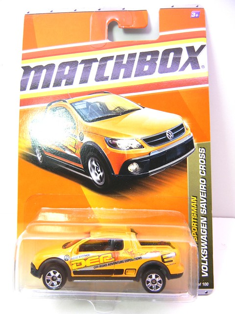 MATCHBOX VOLKSWAGEN SAVEIRO CROSS YELLOW (1)