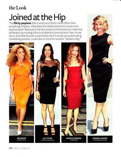 In Style Peplum Dresses