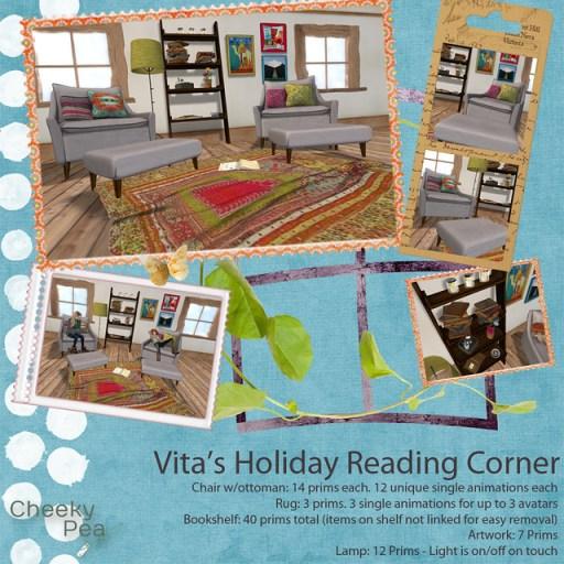 Vita's Holiday Reading Corner