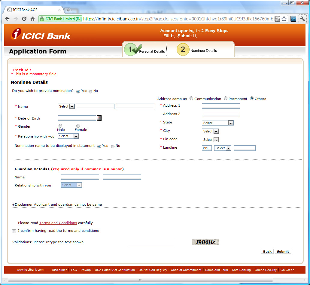 Security Bank Online Open Account