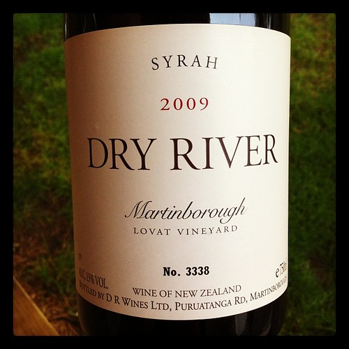Dry River Lovat Vineyard Syrah 2009