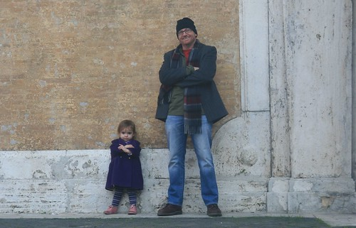 The cool kids at the Spanish Steps