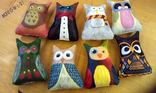 More Owls by creativedawn