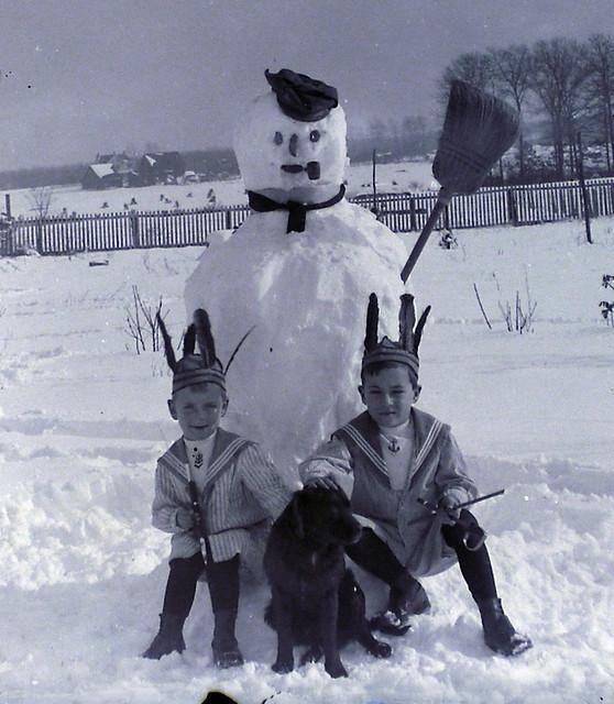 Frosty The Boys A Dog-detail