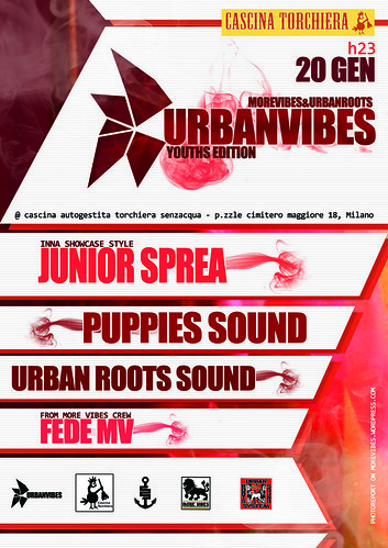 URBANVIBES NIGHT 20 GENNAIO @ TORCHIERA by MORE VIBES REGGAE BLOG