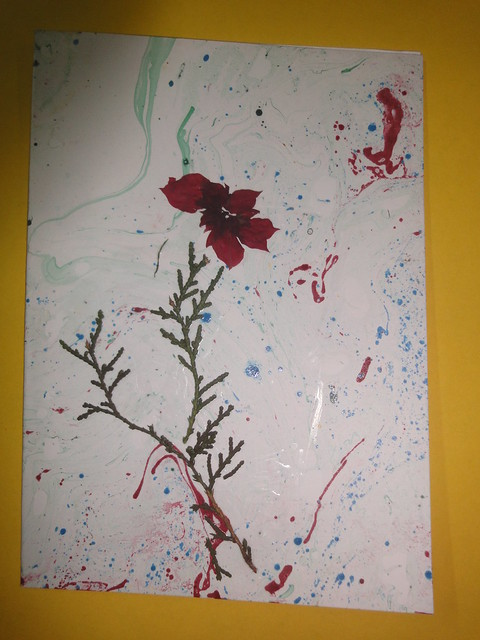 Dried Flower New year Card 7