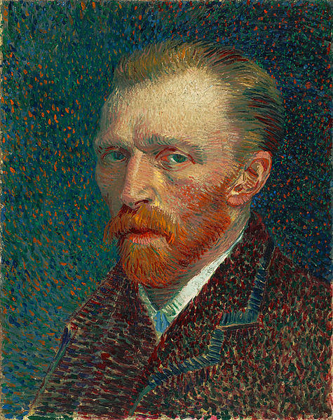 Van Gogh, Self-Portrait, 1887.