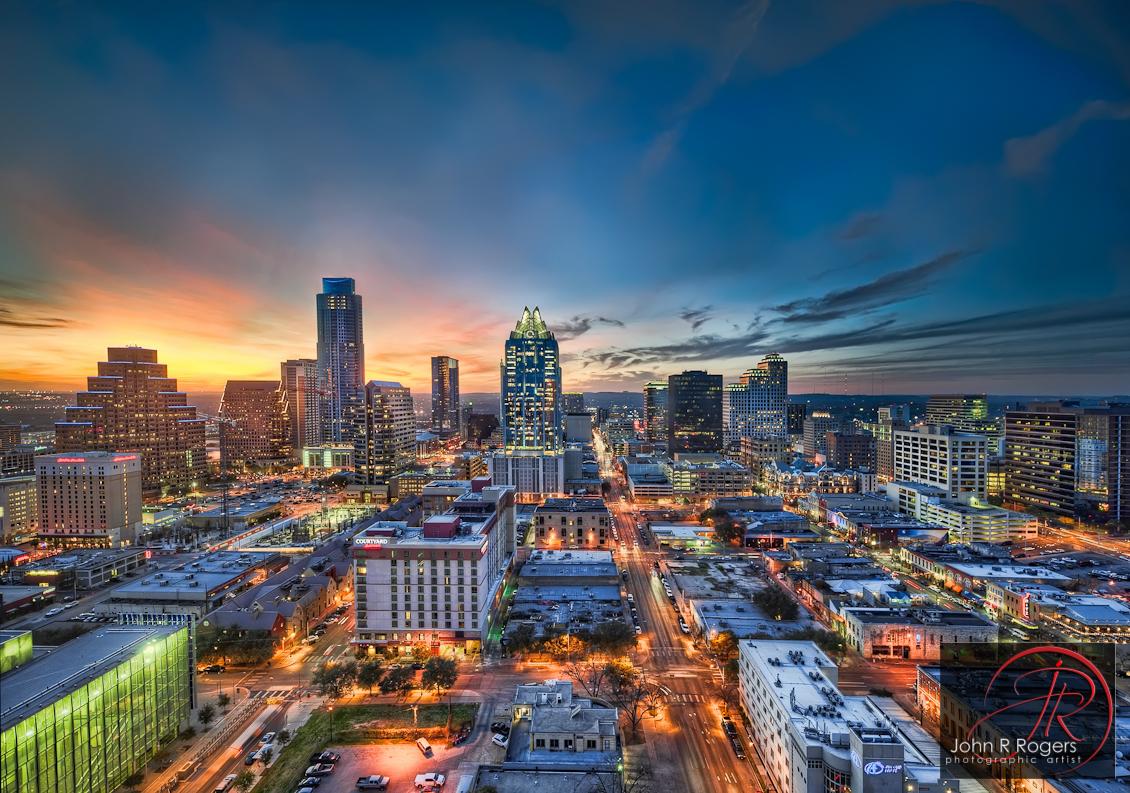 Kota Austin, Texas. (Foto: johnrrogers.com)