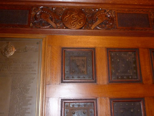 Veterans Room Paneling Detail