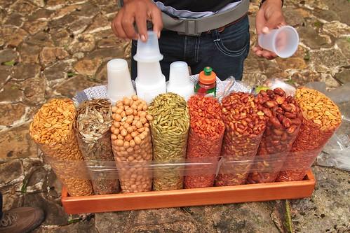 cacahuates salados, pescado seco, cacahuates japoneses, semillas de calabaza, cacahuates enchilados, cacahuates salados con cascara, habas con chile y cacahuates salados
