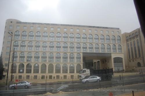 rainy day in jerusalem