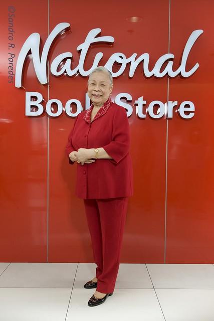 """National Book Store's Socorro """"Nanay Coring"""" Ramos"""
