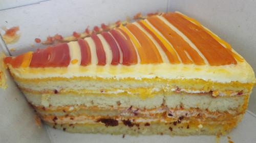 Blueberry Mango cake