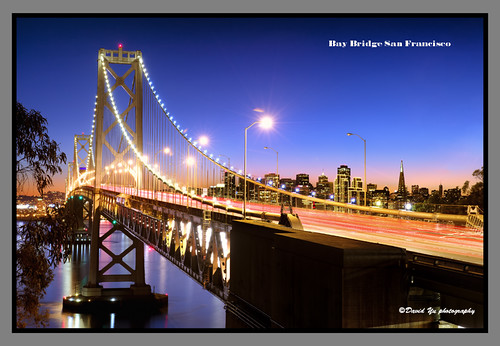 Bay Bridge San Francisco by davidyuweb