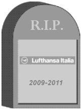 Lufthansa Italia Tombstone