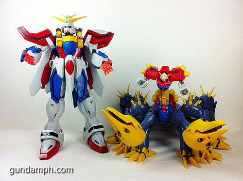 MSIA Devil Gundam First Form Unboxing Review Huge (89)